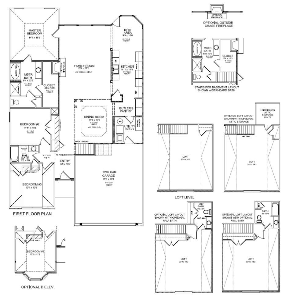 Floor Plans Rockwood Ii Lexington Ky Real Estate