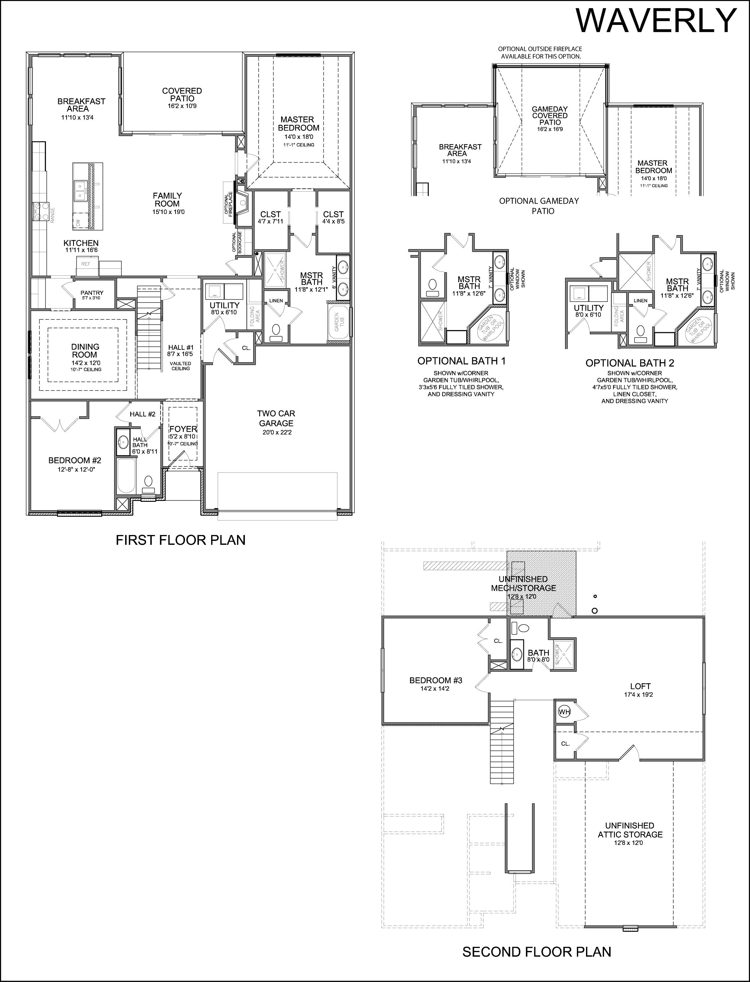 Center fireplace house plans house plans for Center chimney house plans