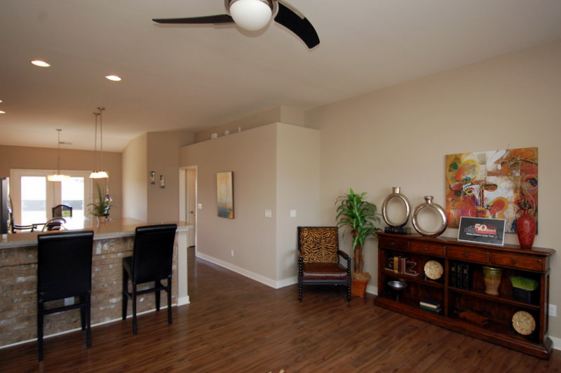Quick move homes for Model home flooring