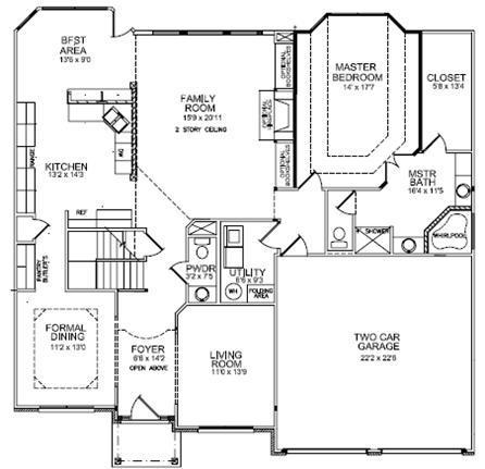 South Africa Home Design furthermore 4500 Sq Ft House Plans 1 Story likewise Ball Homes Offers Award Winning Floor Plans together with Preah Khan Plan also Kitchen Floor Plans. on huge home floor plans