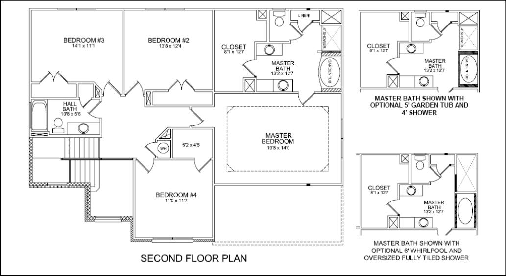 Custom Closet Floor Plans