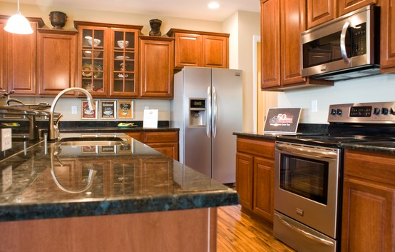 What is the most popular granite countertop color home for Most popular kitchen countertops