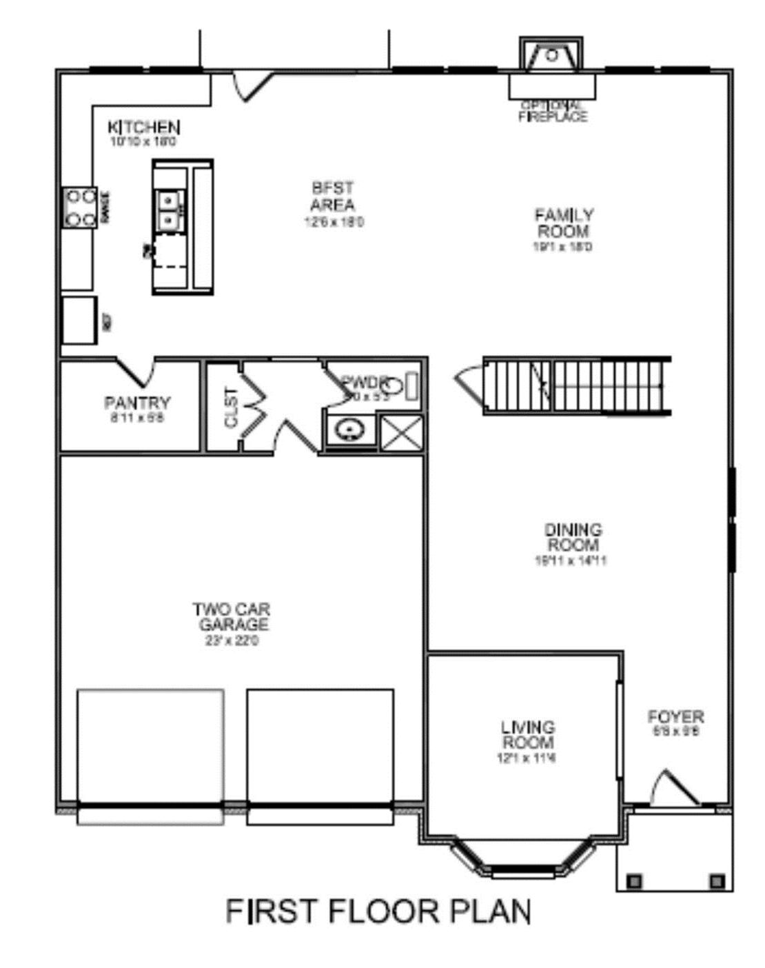 l shaped ranch home floor plans