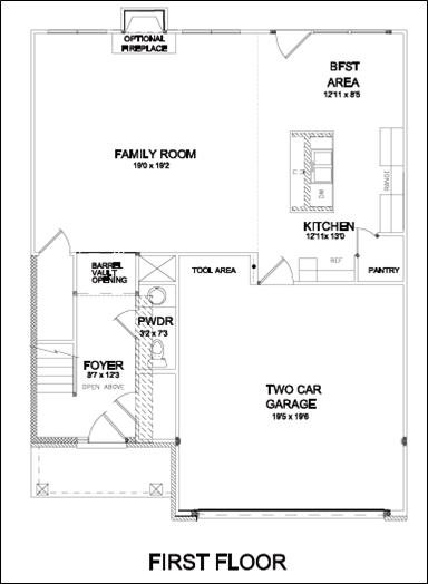 Model homes for 4 car garage square footage