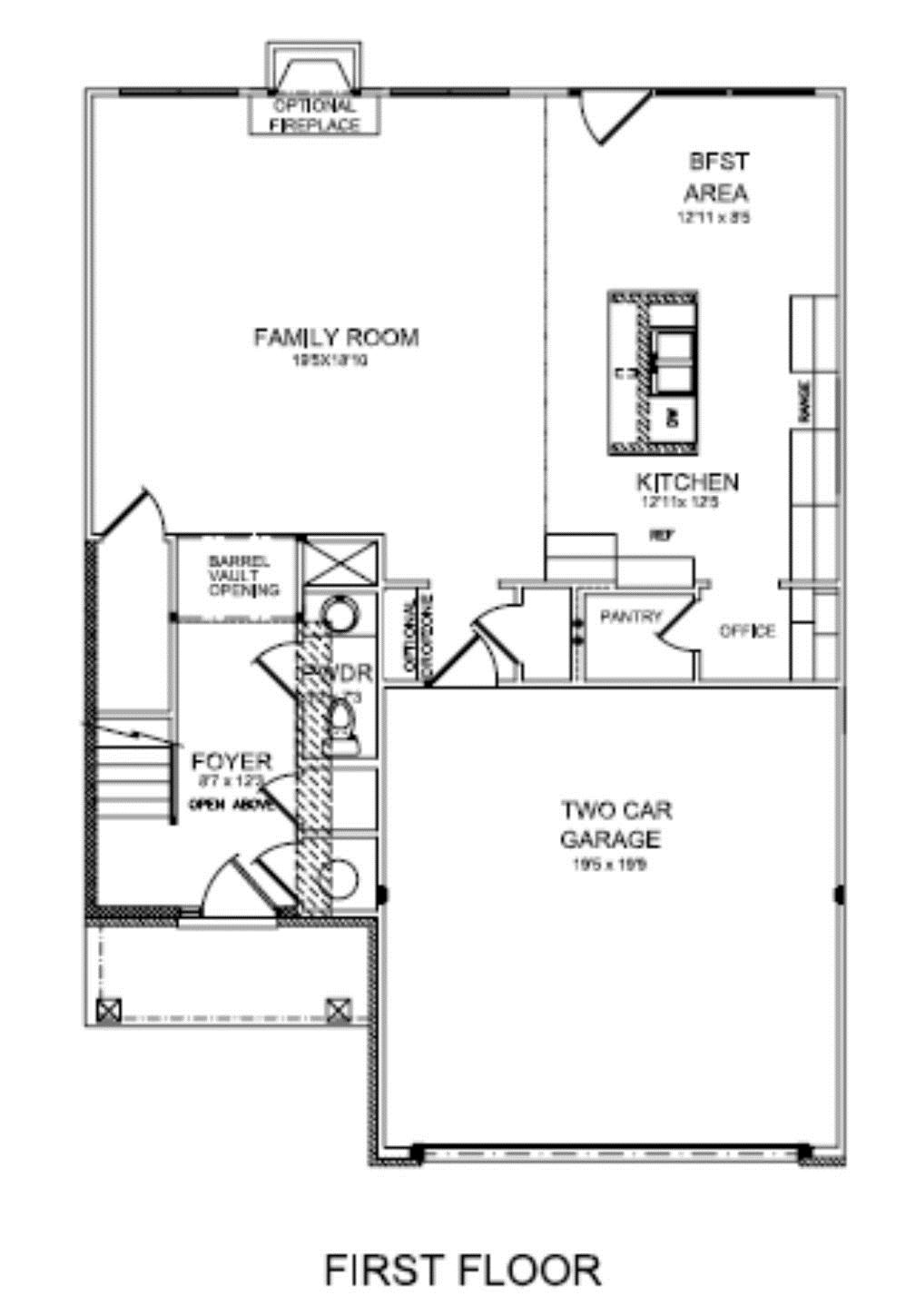 New House Plans 2014 floor plans
